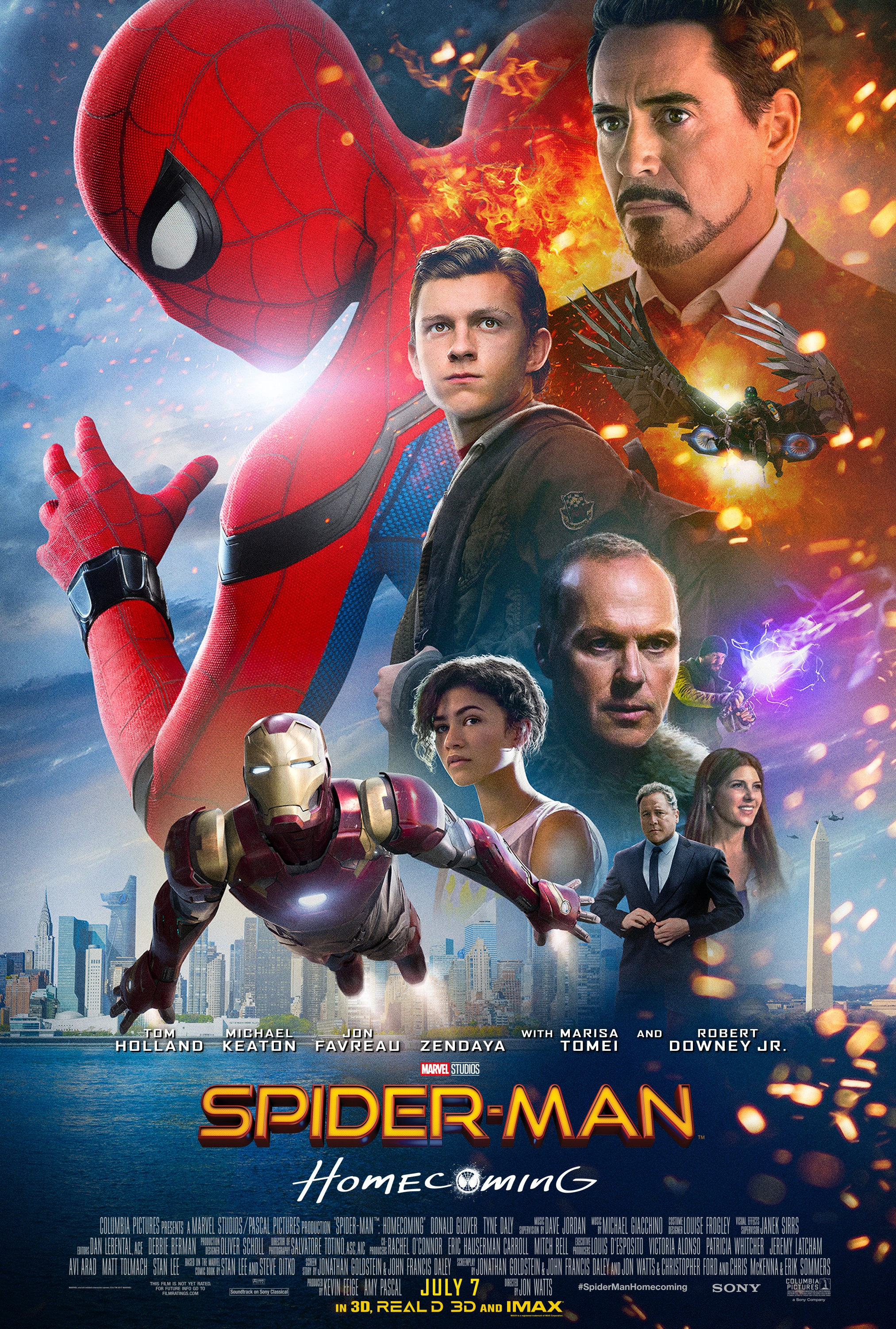 Spider Man Homecoming 2017 Rotten Tomatoes