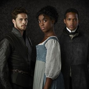 Wade Briggs, Lashana Lynch and Sterling Sulieman (from left)