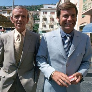 Fred Astaire (left) and Robert Wagner