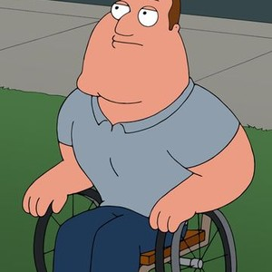 Joe is voiced by Patrick Warburton