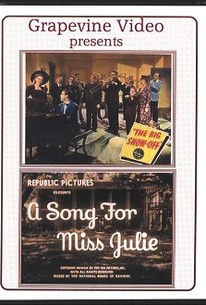 A Song for Miss Julie