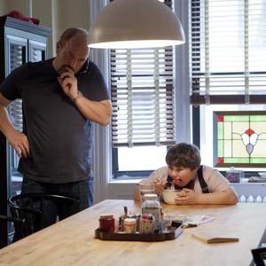 L-R: Louis C.K. as Louie, Jeremy Shinder as Never. CR: K.C. Bailey/FX