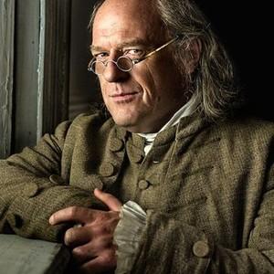 Dean Norris as Benjamin Franklin