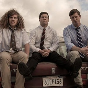 Blake Anderson, Adam Devine, Anders Holm (from left)