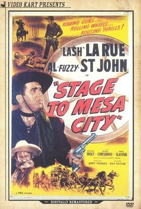 Stage to Mesa City