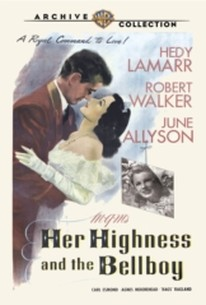 Her Highness And The Bellboy 1945 Rotten Tomatoes