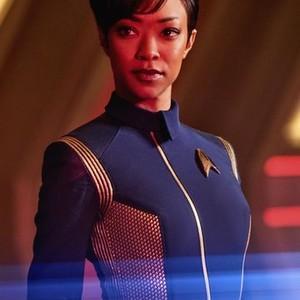 Sonequa Martin-Green as First Officer Michael Burnham