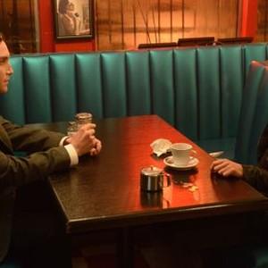 Orphan Black: Season 2, Episode 1, Mark (Ari Millen) and Sarah (Tatiana Maslany)