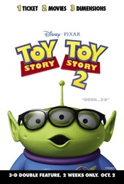 Toy Story & Toy Story 2 in 3D Double Feature