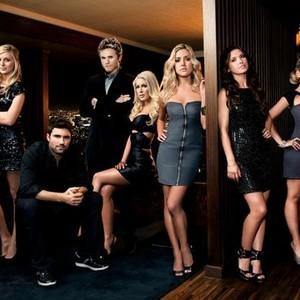 Stephanie Pratt, Brody Jenner, Spencer Pratt, Heidi Montag, Kristin Cavallari, Audrina Patridge and Lo Bosworth (from left)