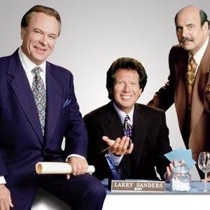 Rip Torn, Garry Shandling and Jeffrey Tambor (from left)