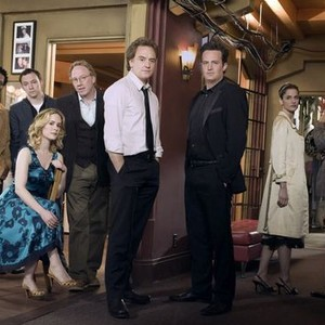 D.L. Hughley, Nathan Corddry, Sarah Paulson, Timothy Busfield, Bradley Whitford, Matthew Perry, Amanda Peet and Steven Weber (from left)