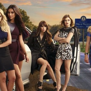 Ashley Benson, Shay Mitchell, Troian Bellisario, Lucy Hale and Sasha Pieterse (from left)
