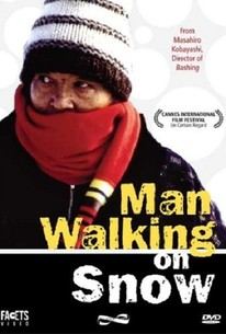 Man Walking on Snow