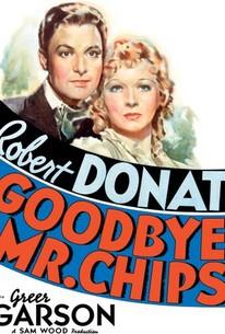 Poster for Goodbye, Mr Chips (1939)
