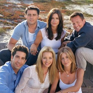 Matt LeBlanc, Courteney Cox Arquette and Matthew Perry (top row, from left); David Schwimmer, Lisa Kudrow and Jennifer Aniston (bottom row, from left)