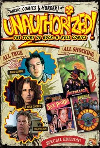 Unauthorized and Proud of It: Todd Loren's Rock 'N' Roll Comics