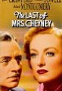 The Last Of Mrs.Cheyney