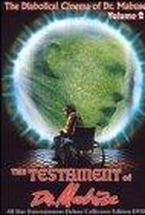 Das Testament des Dr. Mabuse (Terror of the Mad Doctor )