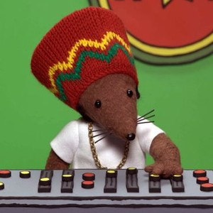 Rastamouse is voiced by Reggie Yates