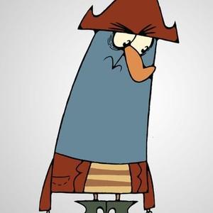 Captain K'Nuckles is voiced by Brian Doyle-Murray