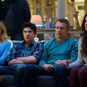 Toni Collette, Mateus Ward, Tate Donovan and Quinn Shephard (from left)
