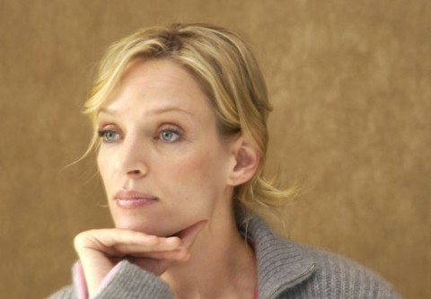 """""""Be Cool"""" Press Conference with Uma Thurman"""