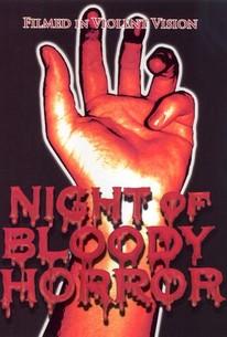 Night of Bloody Horror