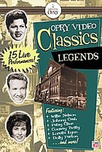 Opry Video Classics - Legends