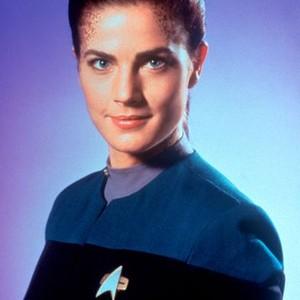 Terry Farrell as Chief Science Officer Jadzia Dax