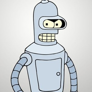 Bender is voiced by John DiMaggio