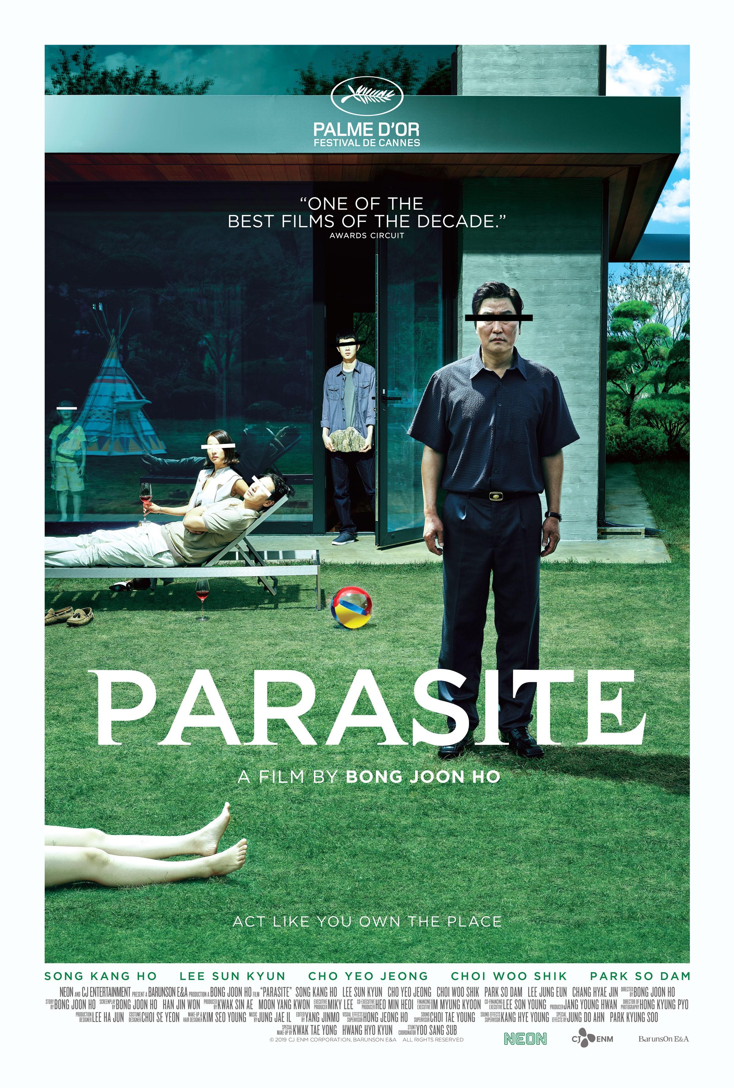 Parasite (9) - Rotten Tomatoes