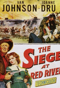Poster for The Siege at Red River (1954)