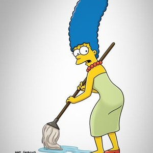 Marjorie Bouvier Simpson is voiced by Julie Kavner