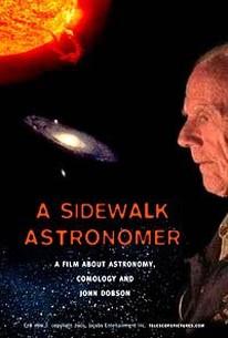 Sidewalk Astronomer
