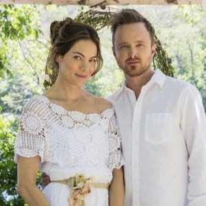 Michelle Monaghan (left) and Aaron Paul