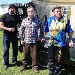 John Paul Tremblay, Mike Smith and Robb Wells (from left)