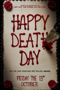 Happy Death Day 2017 Rotten Tomatoes