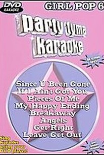Party Tyme Karaoke - Girl Pop 6