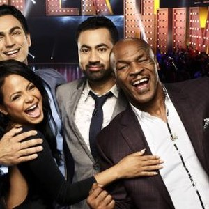 Dr. Rahul Jandial, Christina Milian, Kal Penn and Mike Tyson (from left)