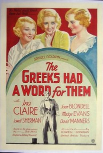 The Greeks Had a Word for Them (Three Broadway Girls)