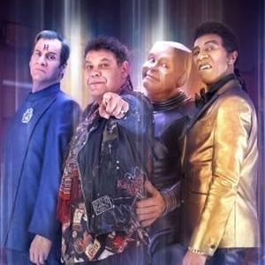 Chris Barrie, Craig Charles, Robert Llewellyn and Danny John-Jules (from left)
