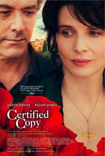Certified Copy (Copie Conforme)