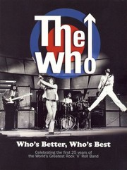 The Who: Who's Better, Who's Best