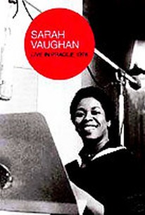 Sarah Vaughan - Live in Prague 1978