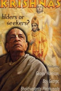 Hare Krishnas: Hiders or Seekers?