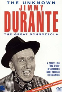 The Unknown Jimmy Durante: The Great Schnozzola