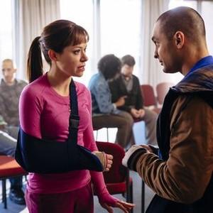 Orphan Black: Season 2, Episode 6, Alison (Tatiana Maslany) and Vic (Michael Mando)