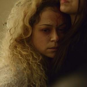 Orphan Black: Season 2, Episode 4, Helena (Tatiana Maslany) and Sarah (Tatiana Maslany)