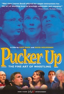Pucker Up: The Fine Art of Whistling